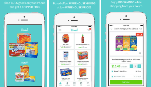 Boxed Mobile App: Snag Warehouse Prices on Food, Personal Care