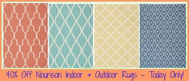 Homedepot Com 40 Off Nourison Indoor Outdoor Area Rugs