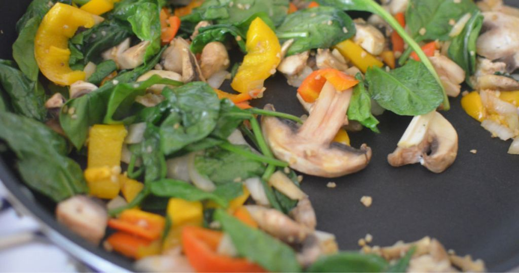 slow cooker veggie pasta