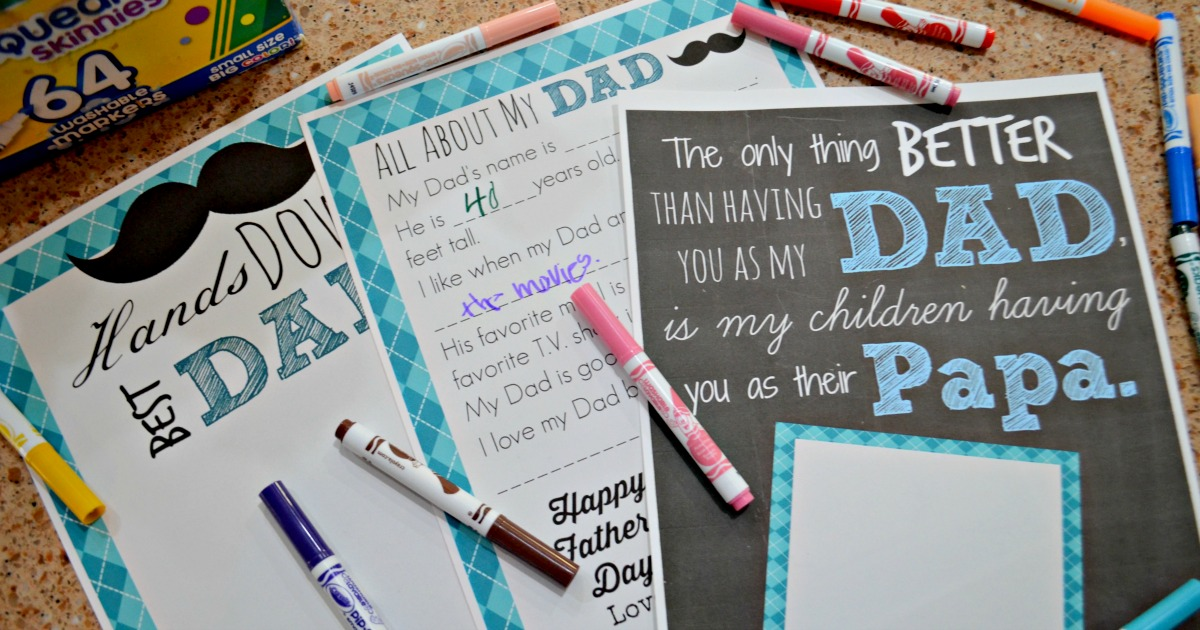 DIY Father's Day printables