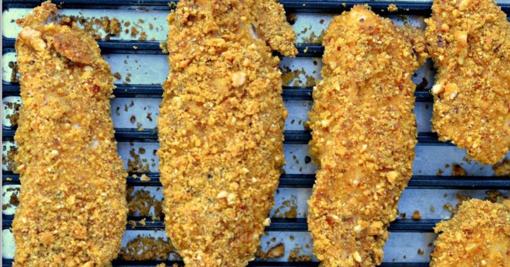 honey mustard pretzel chicken recipe