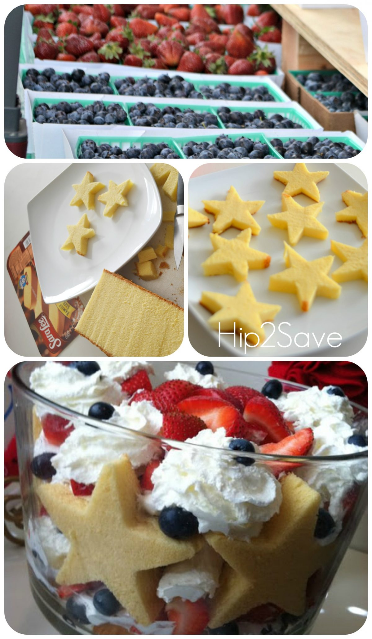 How to make a 4th of July Trifle with poundcake