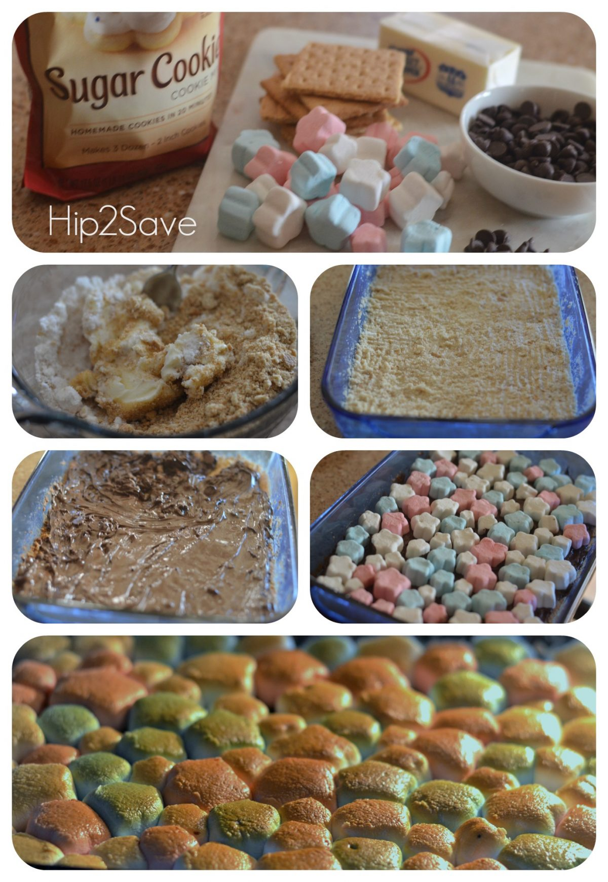 How to make smore cookie bars Hip2Save