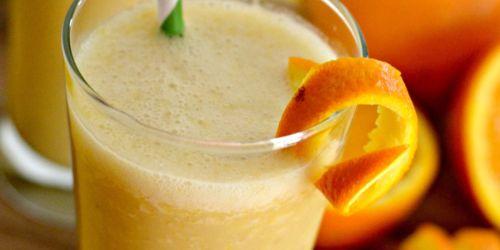 4 Ingredient Homemade Orange Julius (Dairy-Free)