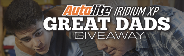 Autolite Great Dads Giveaway: Free Hat for Every Entrant (+ Win Racing Jackets, Signed Posters + More)