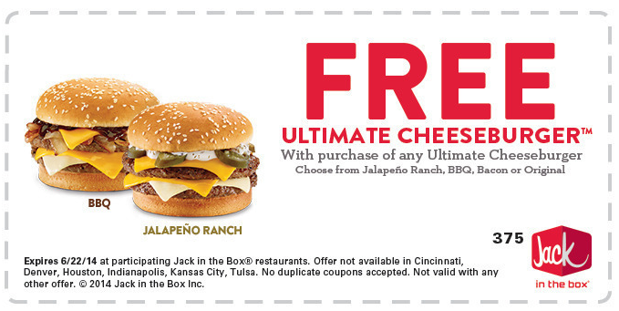Jack in the Box Coupon Codes, Printable coupons, and Promo Codes