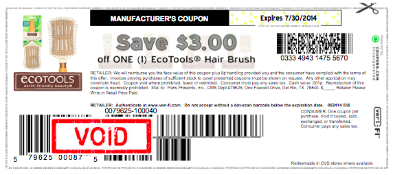 picture regarding Ecotools Printable Coupon named Superior Significance $3/1 EcoTools Hair Brush Coupon - Hip2Conserve