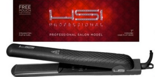 Amazon: Highly Rated HSI Professional Flat Iron Hair Straightener & More Only $39.99 Shipped