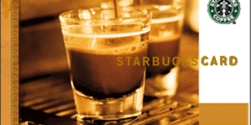Huggies Rewards Members: 250 Points for FREE $5 Starbucks Gift Card (Available Again!)