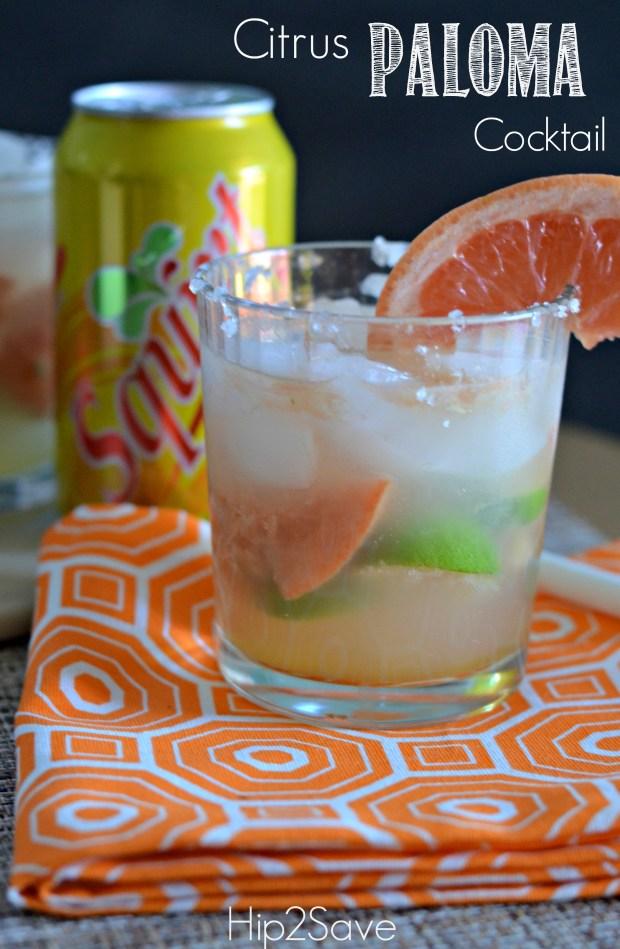 Citrus Paloma Cocktail (Summer Drink Series)