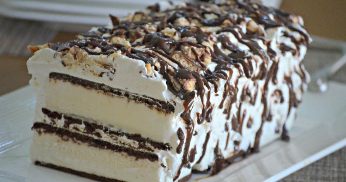 super easy ice cream sandwich cake