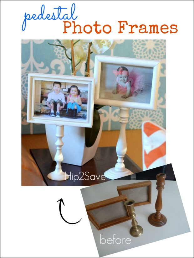 Easy Pedestal Photo Frame Craft