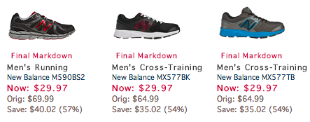 reviews on joe's new balance outlet