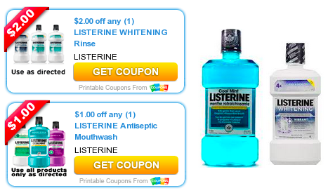 photo relating to Listerine Coupons Printable called 2 Higher Relevance Listerine Discount codes - Hip2Conserve