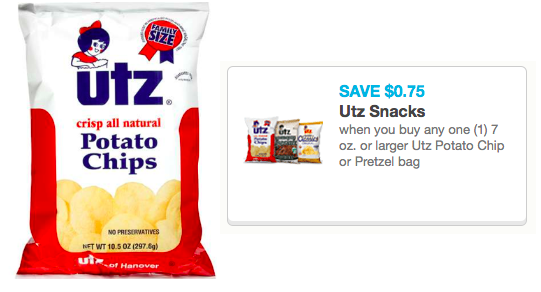 utz pretzels coupons
