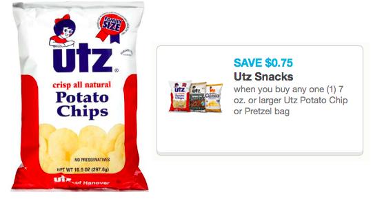 utz pretzels coupons