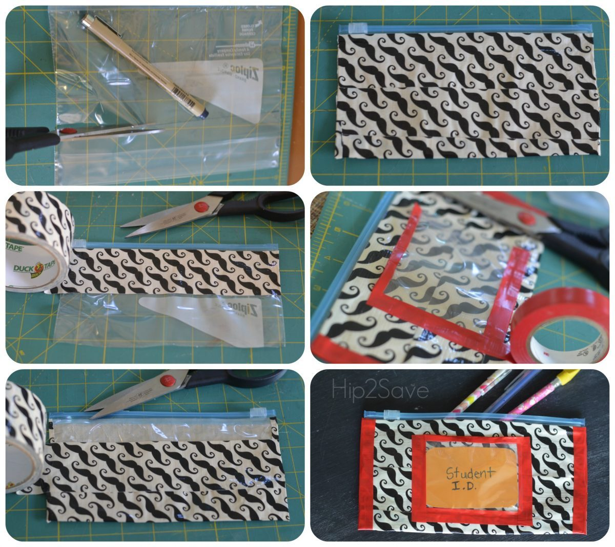 Duct Tape Pouch Craft Hip2Save