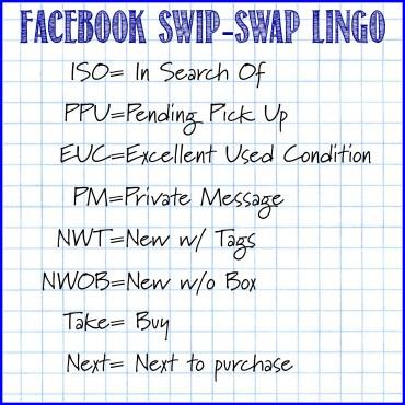 facebook Lingo for Swip Swap