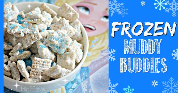 Frozen-Themed Muddy Buddies (Gluten-Free)