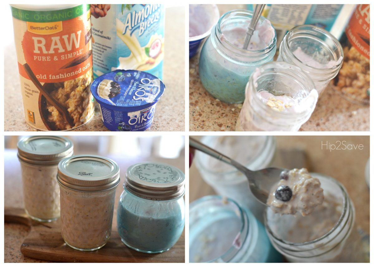how to make overnight oatmeal Hip2Save
