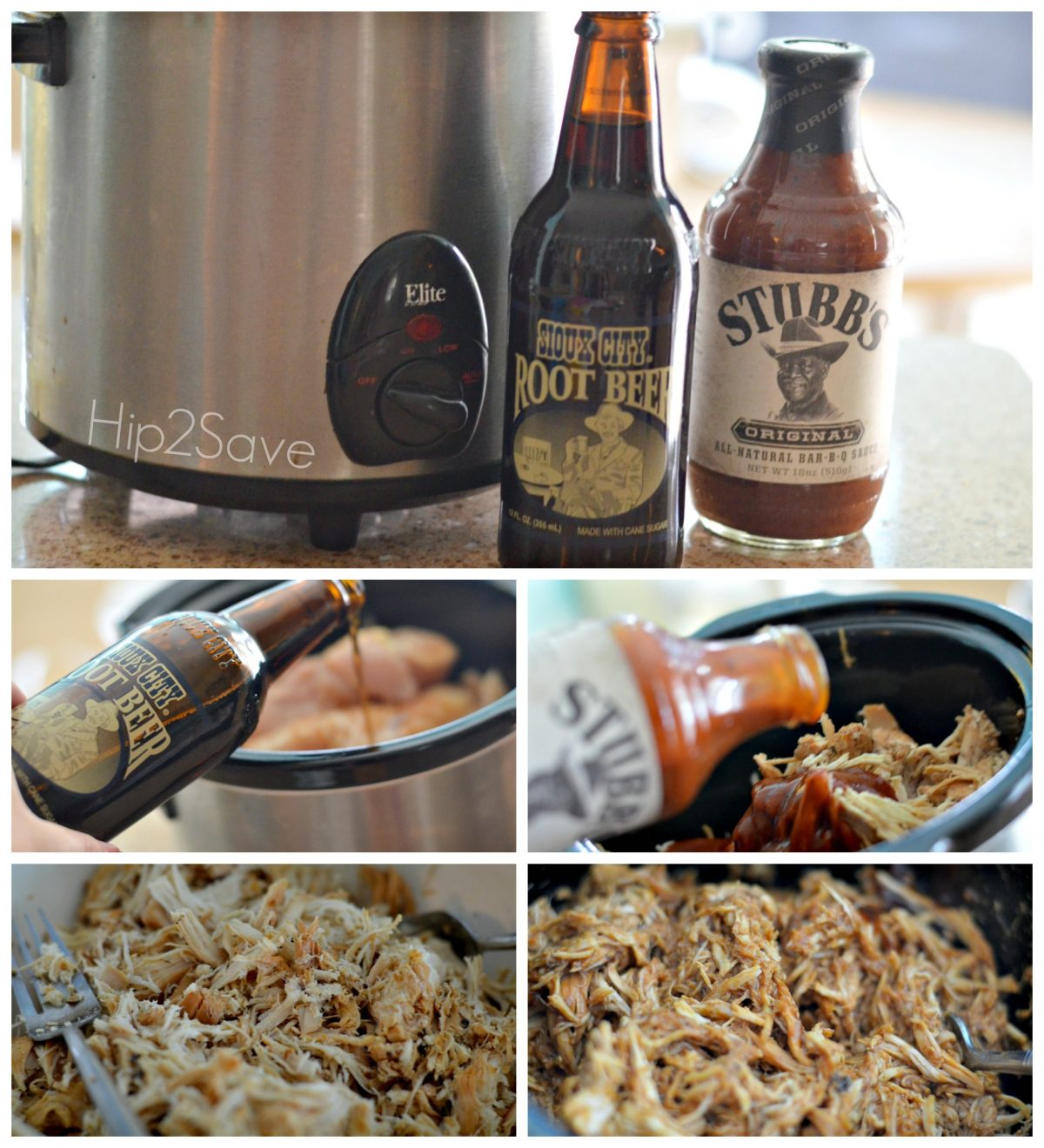 How to make root beer bbq chicken sandwiches Hip2Save