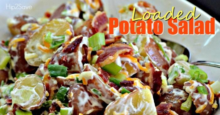 Loaded Potato Salad Hip2Save.com