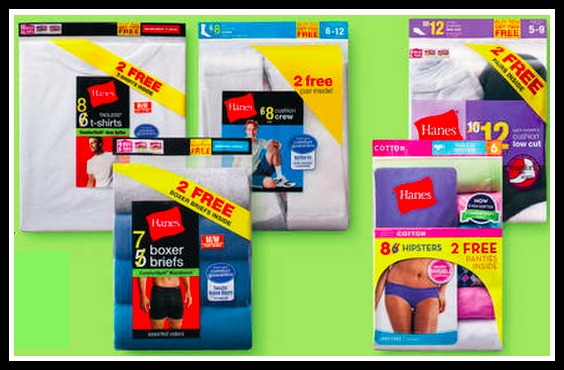 photograph about Hanes Printable Coupons named Emphasis: Pleasant Bargains upon Hanes Underwear Socks - Hip2Conserve