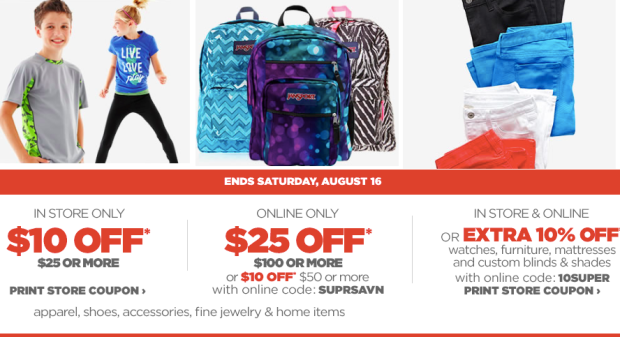 jcpenney coupons 2020 $10 off 25