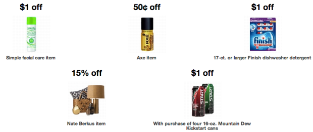 Target: New Printable Store Coupons = Great Deals on Axe