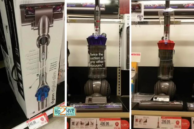 Target Nice Deals On Dyson Vacuums Hip2save