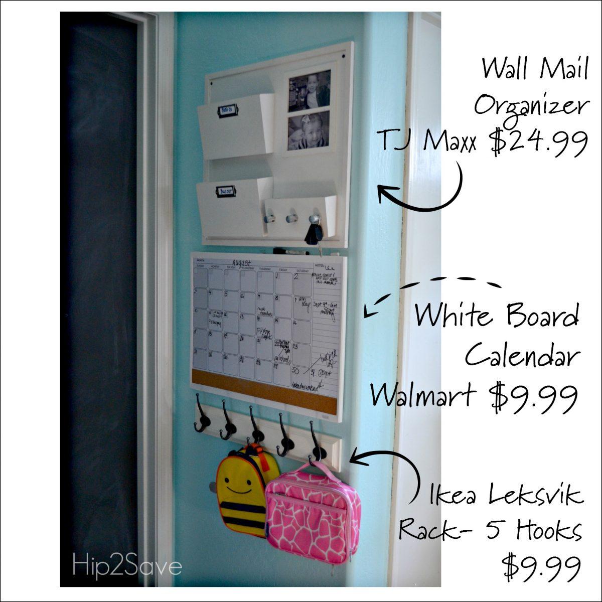 Wall Organizing Hip2Save