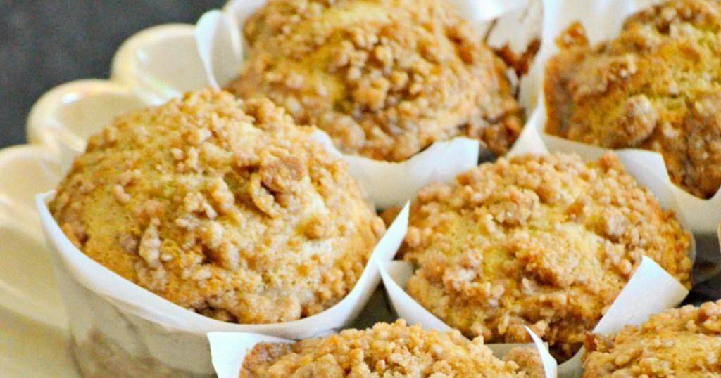 banana crumb muffin recipe