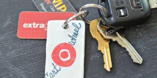 How to Make a Target Cartwheel Keychain Card