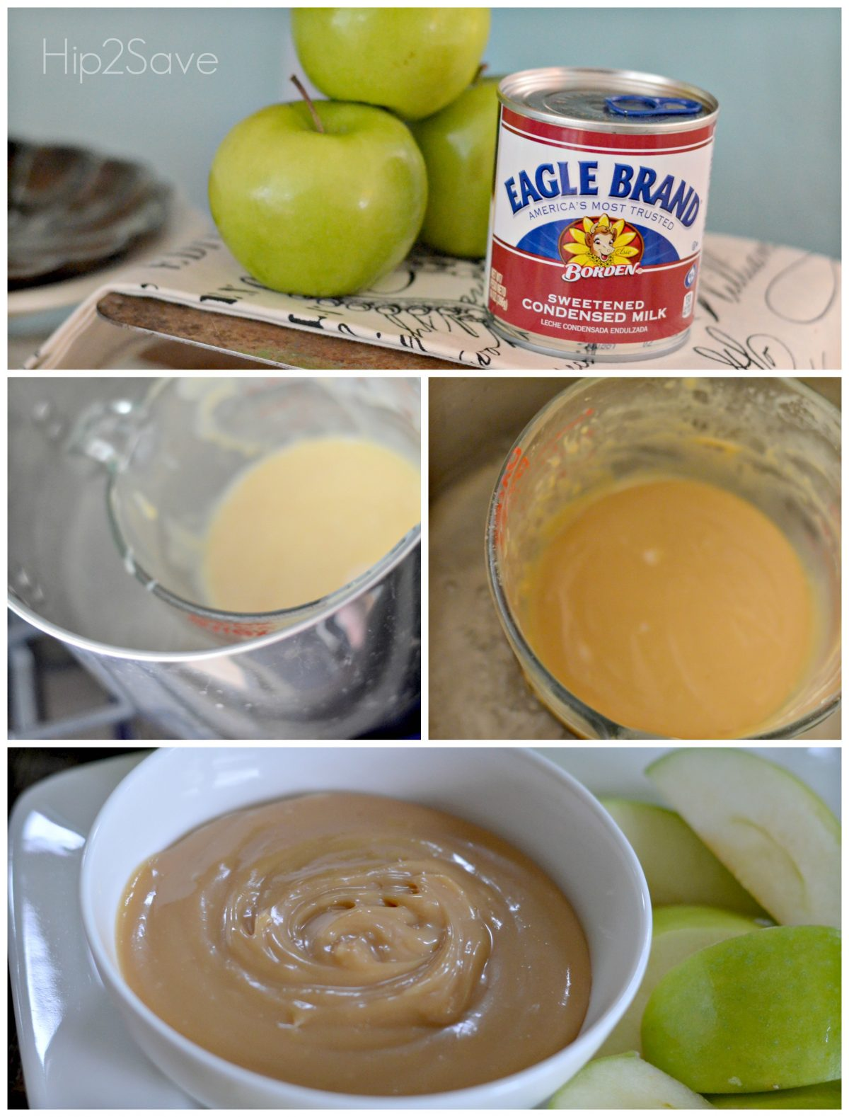 how to make caramel from sweetened condenced milk hip2Save