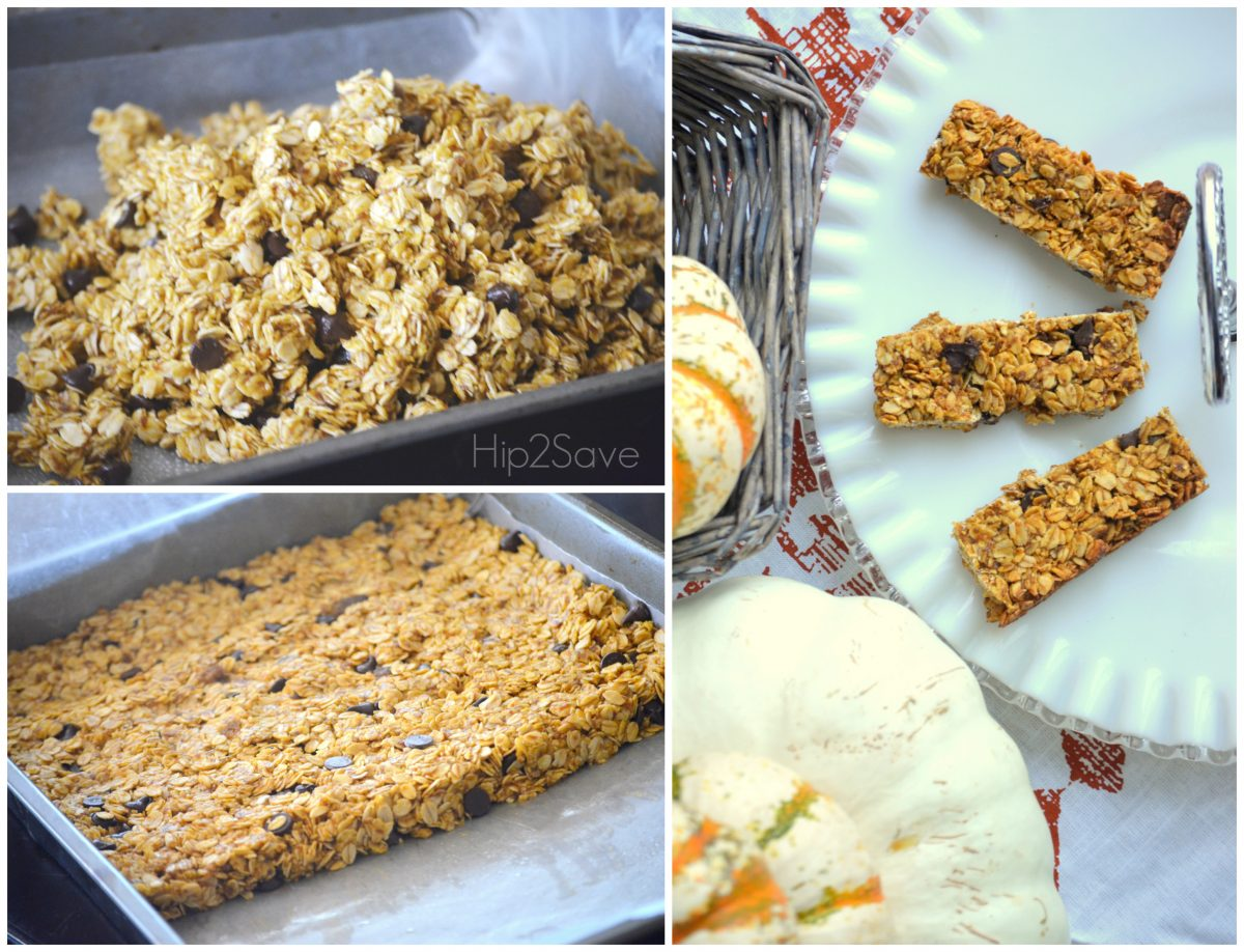 How to make pumpkin granola bars Hip2Save