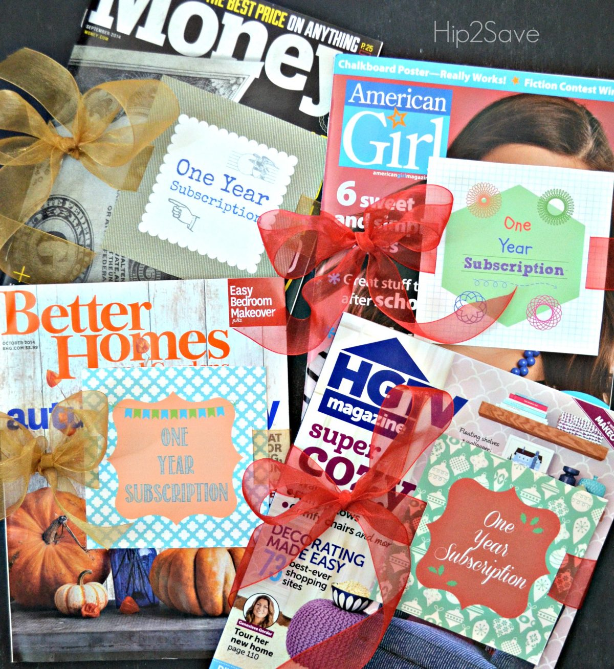 One Year Subscription Cards Hip2Save