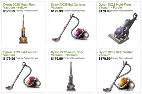 Woot com: Dyson Vacuums As Low As $179 99 (Factory