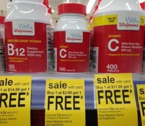 walgreens vitamin c