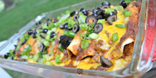 Easy Weeknight Enchiladas