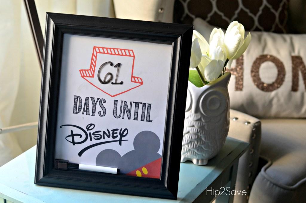 Countdown to Disney Hip2Save