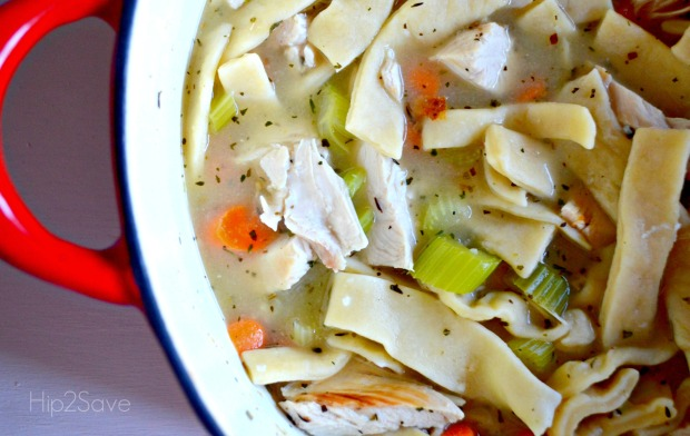 Homemade Chicken Noodle Soup Recipe Hip2Save