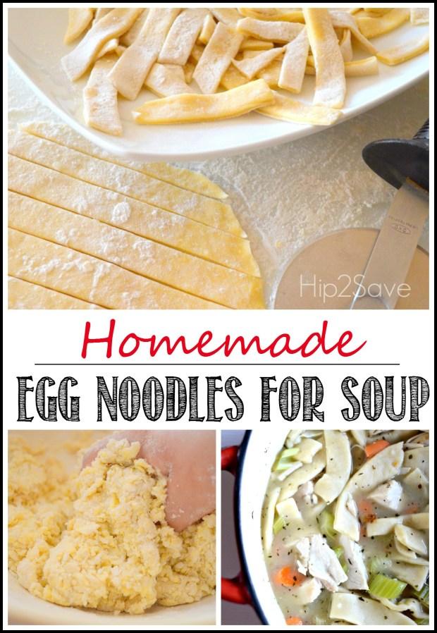 Homemade Egg Noodles for Soup Hip2Save