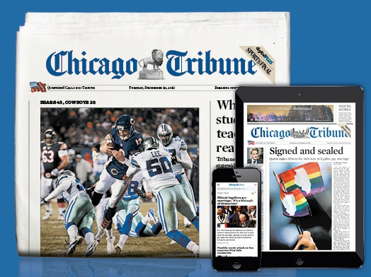 picture regarding Chicago Tribune Daily Sudoku Printable called Groupon: 2 Calendar year Membership in the direction of Sunday Version Chicago