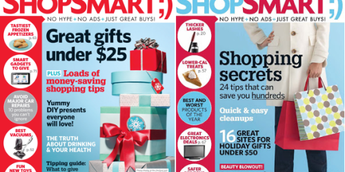ShopSmart Magazine One Year Subscription Only $14.96 (Today Only!)