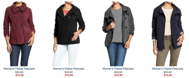 1650548e9 Today only, head on over to Old Navy where both in-store and online, you  can score Performance Fleece Jackets for Women and Kids for only $15 ...