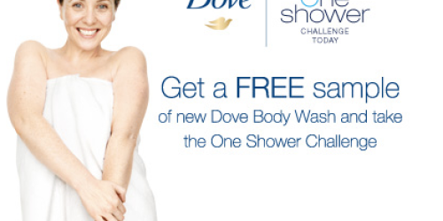 Free Dove Body Wash Sample (+ Giveaway – 10 Readers Will Each Win $25 Walmart Gift Card)