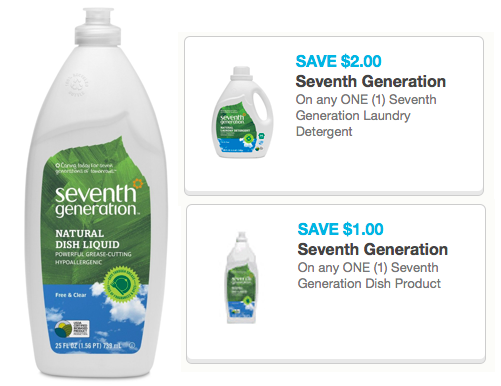 image about Seventh Generation Printable Coupons identified as 2 7th Output Item Coupon codes (Reset!) Preserve upon