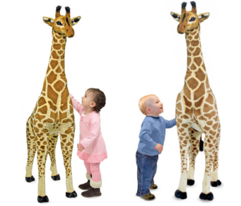Staples Com Hot Melissa Doug Giraffe Plush Only 34 75 Shipped