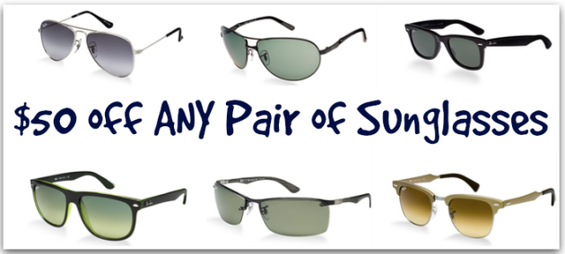 6f68e3525f Hurry on over to Macy s.com to snag a whopping  50 off ALL sunglasses with  the promo code BONUS50 at checkout (expires 11 2). Note that this promo  code ...