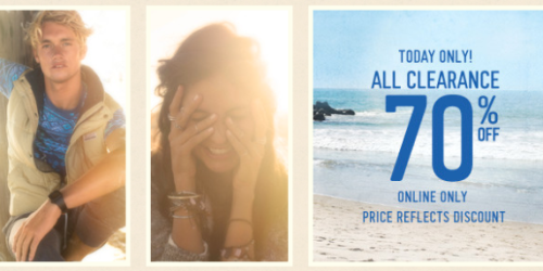 Hollister: 70% Off All Clearance + Free 2-Day Shipping with ShopRunner = Nice Deals